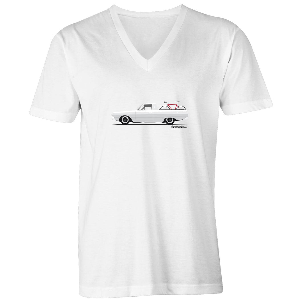 Valiant Ute Mens V-Neck Tee