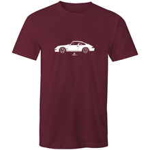 993 Porsche on the Side - Mens T-Shirt - Garage79