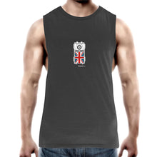 Land Rover Top View Mens Barnard Tank Top Tee