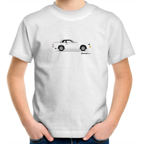 924 Porsche side view  Kids T-Shirt (Print on Demand)