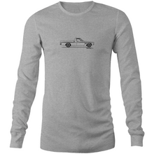 Ute on the Side Mens Long Sleeve T-Shirt - Garage79