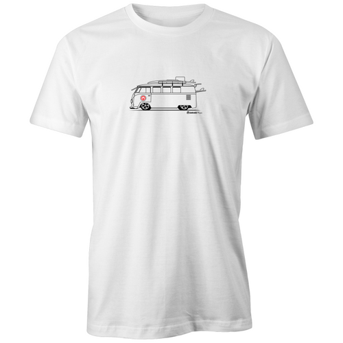 Kombi On the Side Organic T'shirt - Garage79