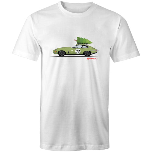 Christmas Jaguar E-Type Series - Mens T-Shirt