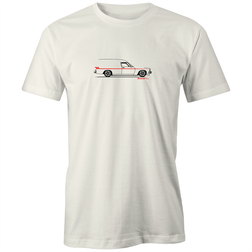 Panel Van on the Side - Mens Organic T-Shirt