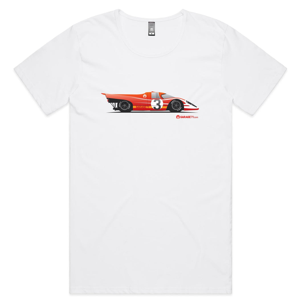 Porsche 917 Mens Scoop Neck T-Shirt