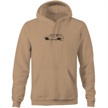 EH Holden Wagon Hoodie - Pocket Hoodie Sweatshirt (Print on Demand)