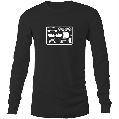 Mazda MX5 - Mens Long Sleeve T-Shirt (Print on Demand)