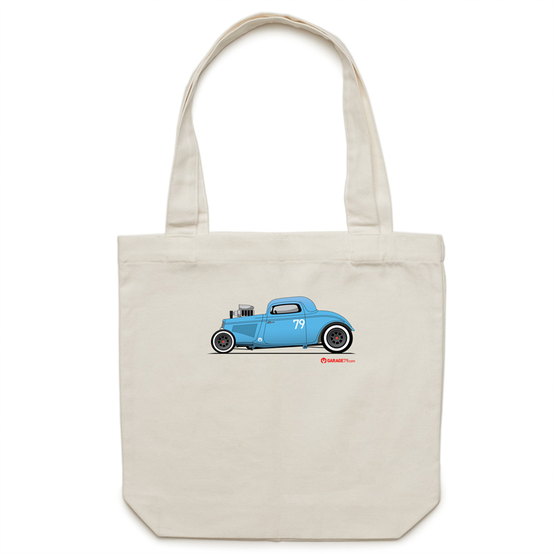 '34 Hot Rod - Canvas Tote Bag