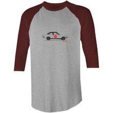 Escort RS2000 on the Side 3/4 Sleeve T-Shirt