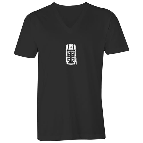Mini Top View Mens V-Neck Tee