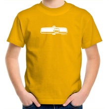 Mini in My Rearview Kids Youth Crew T-Shirt