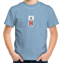 Land Rover Top View Kids Youth Crew T-Shirt