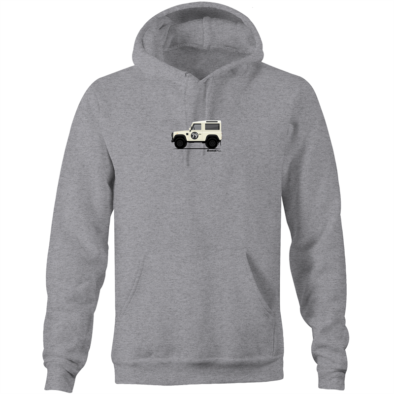 Land Rover Defender - Pocket Hoodie Sweatshirt