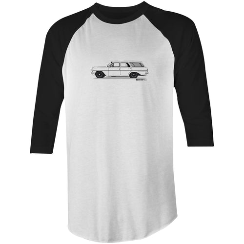 EH Holden Wagon - 3/4 Sleeve T-Shirt