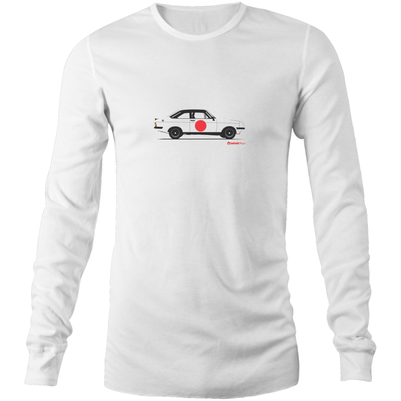Escort RS2000 on the Side Long Sleeve T-Shirt - Garage79