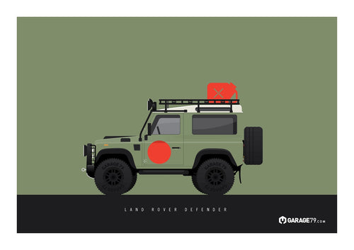 Land Rover Defender Poster