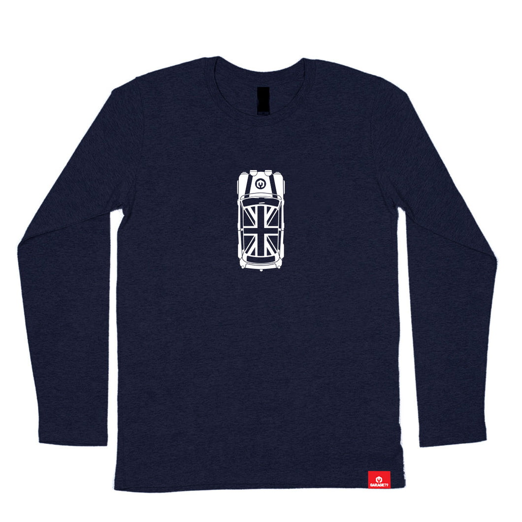 Mini Top View Side Men's Long Sleeve
