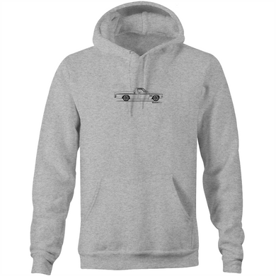 Ute on the Side Pocket Hoodie Sweatshirt
