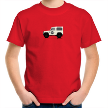 Land Rover Defender - Kids Youth Crew T-Shirt