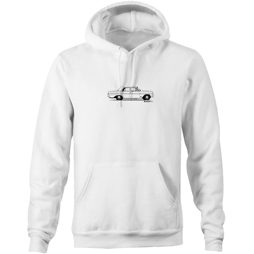 EH Sedan - Pocket Hoodie Sweatshirt