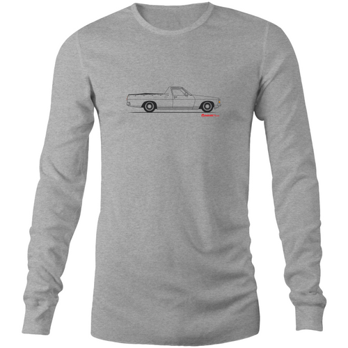 Gavan's Ute - Mens Long Sleeve T-Shirt (Print on Demand) - Garage79