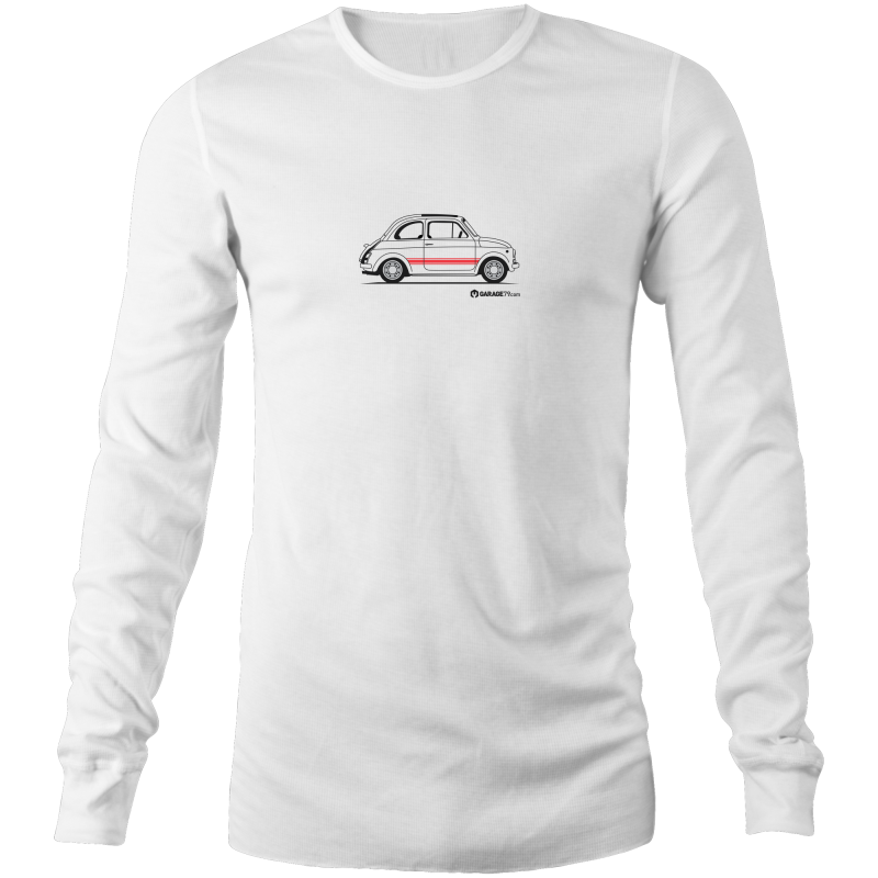 Fiat on the Side - Mens Long Sleeve T-Shirt