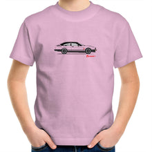 ALFA GTV6 side Kids Youth Crew T-Shirt