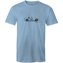 Matt's MX5 Custom Design Men's T-Shirt (Print on Demand)