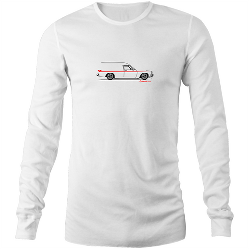 Panel Van Mens Long Sleeve T-Shirt