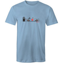 MX5 Side Racer - Mens T-Shirt (Print on Demand)
