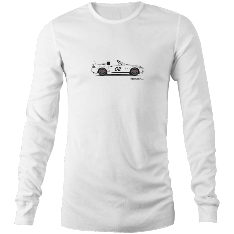 Matt's MX-5 Custom Design Men's Long Sleeve T-Shirt (Print on Demand)