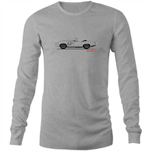 Jaguar E-Type Series One Roadster - Mens Long Sleeve T-Shirt