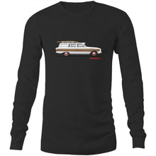 Falcon Surfing Wagon Mens Long Sleeve T-Shirt