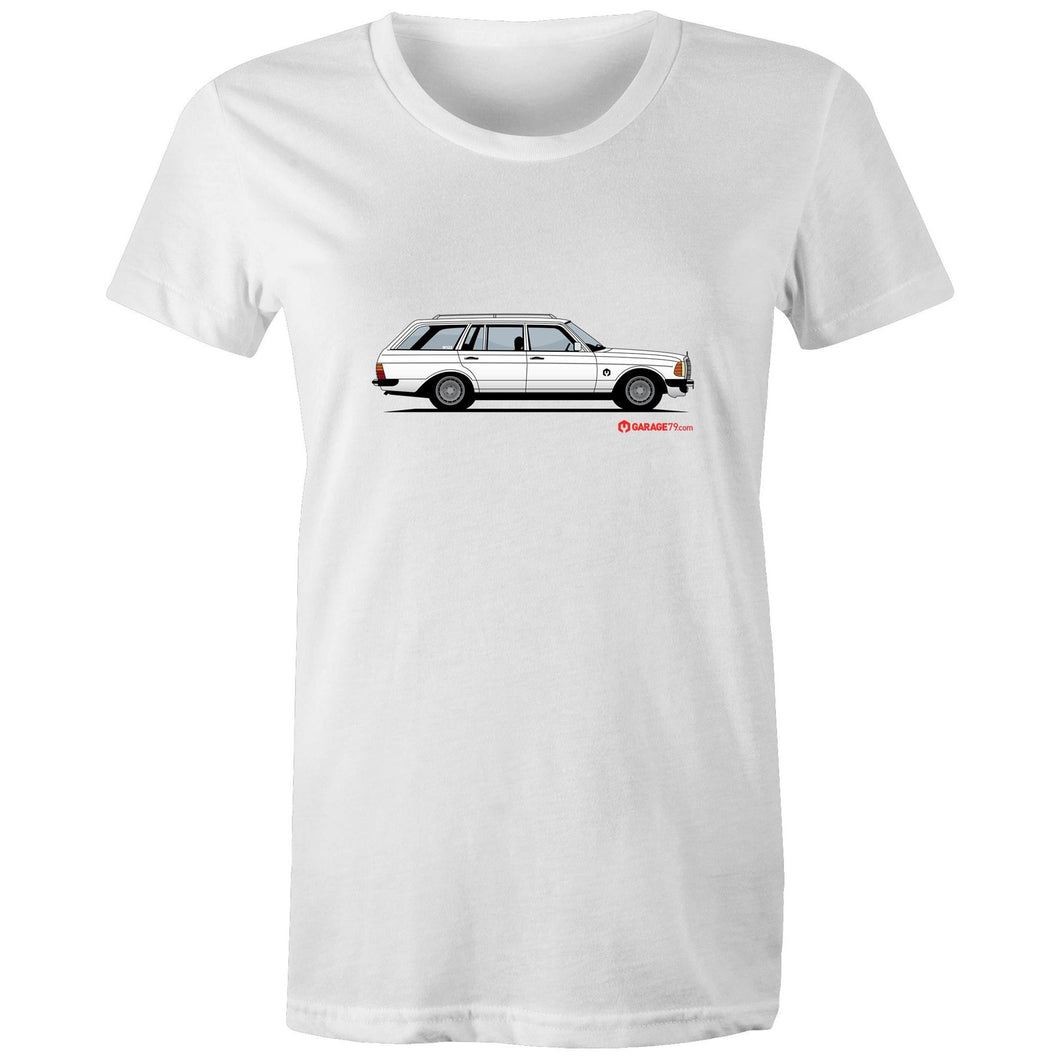 Mercedes Wagon Women's Maple Tee