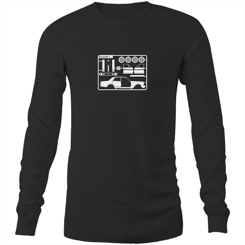 Make Your Own Falcon GT - Mens Long Sleeve T-Shirt