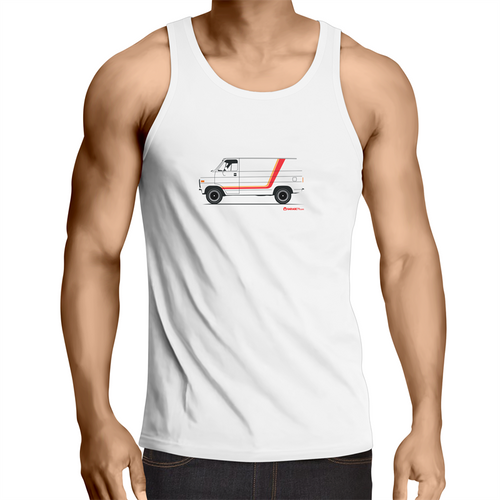 Chevy Van - Men's Singlet Top