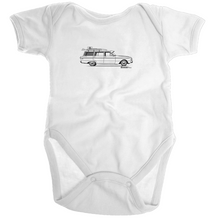 Falcon Wagon on the Side Organic Baby Onesie - Garage79