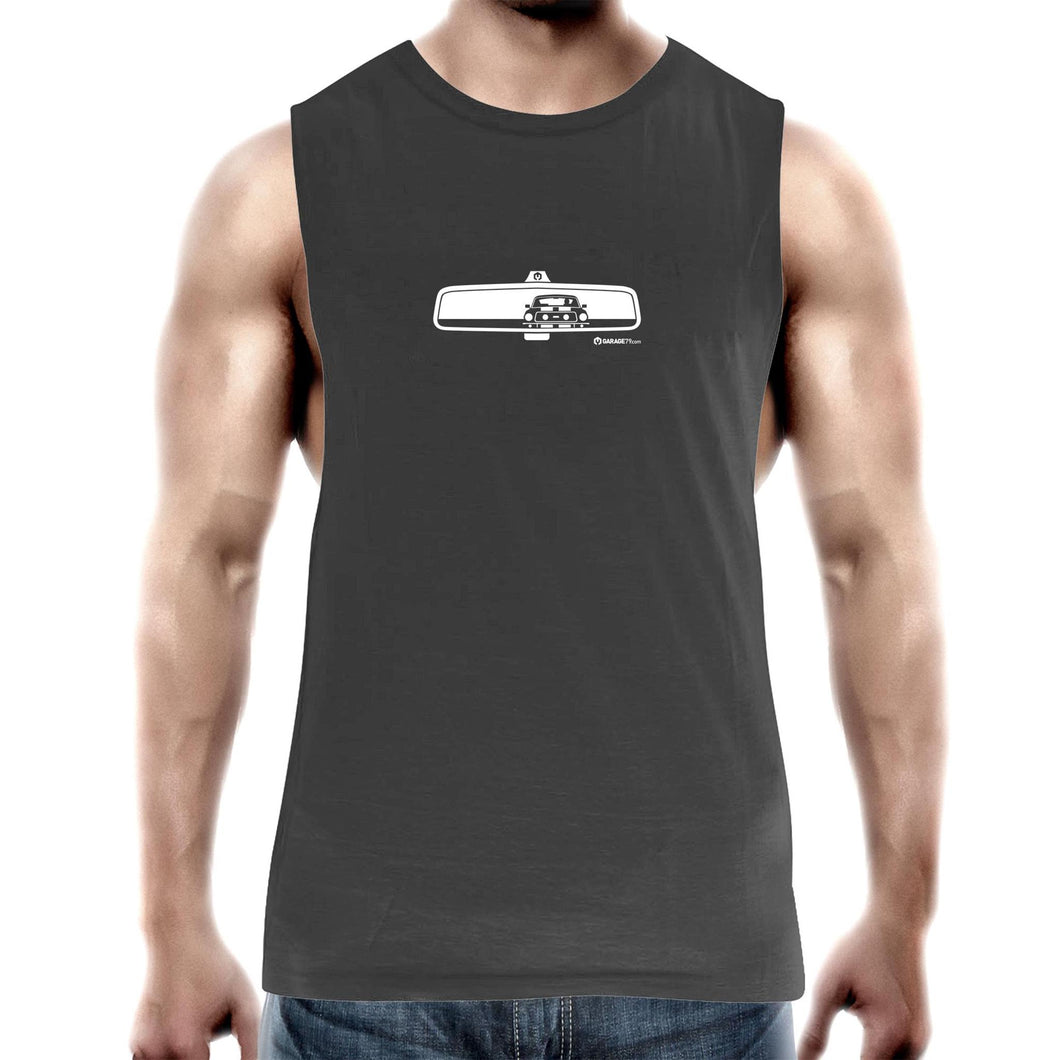Mustang Rearview Mens Barnard Tank Top Tee