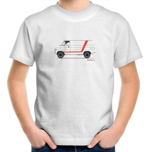 Chevy Van Kids Youth Crew T-Shirt