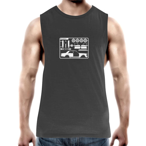 Make Your Own Falcon GT Mens Barnard Tank Top Tee