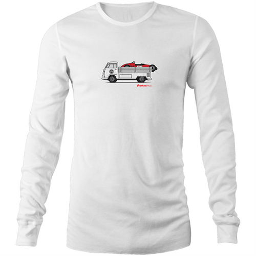 Kombi Ute Side Racer - Mens Long Sleeve T-Shirt