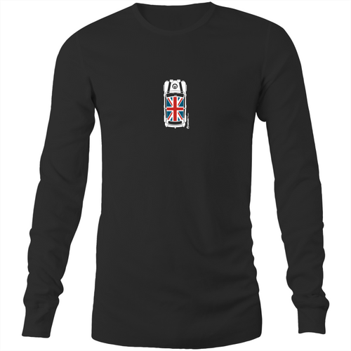 Mini Top View Colour Mens Long Sleeve T-Shirt