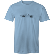 Ute on the Side - Mens T-Shirt (Print on Demand)
