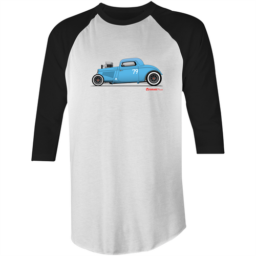 '34 Hot Rod - 3/4 Sleeve T-Shirt