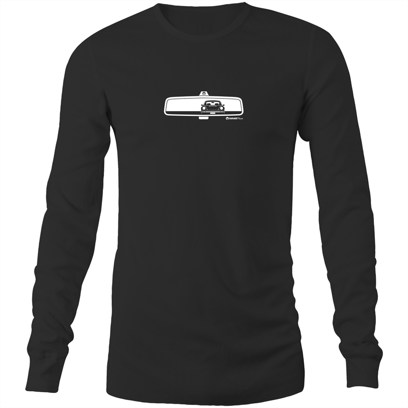 Porsche Rearview - Mens Long Sleeve T-Shirt