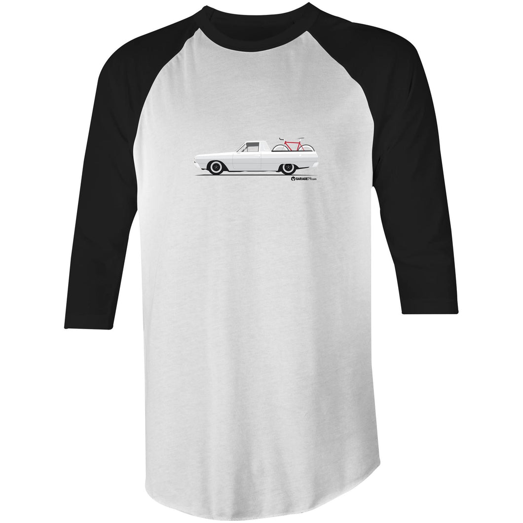 Valiant Ute Raglan 3/4 Sleeve T-Shirt