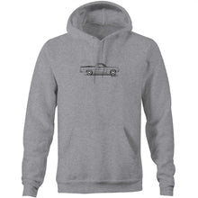 HK Holden Ute on the Side - Pocket Hoodie Sweatshirt