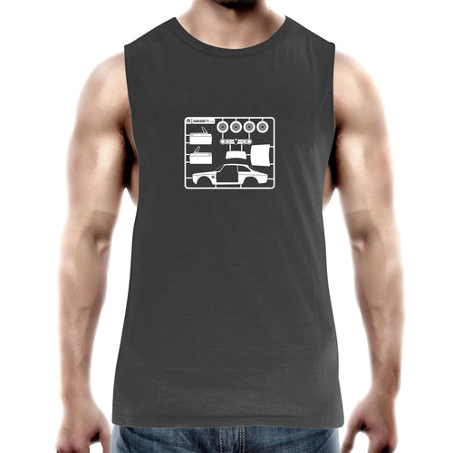 Alfa - Make Your Own Mens Barnard Tank Top Tee