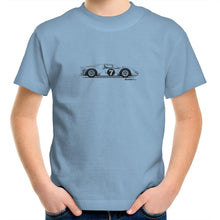 1966 Ferrari 330 P3/4 Kids Youth Crew T-Shirt