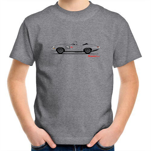 Jaguar E-Type Series One Roadster - Kids T-Shirt